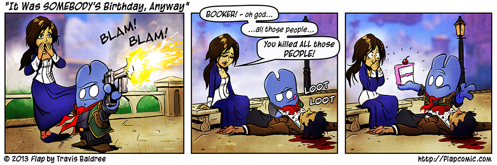 You Gotta Play Bioshock Infinite To Get It
